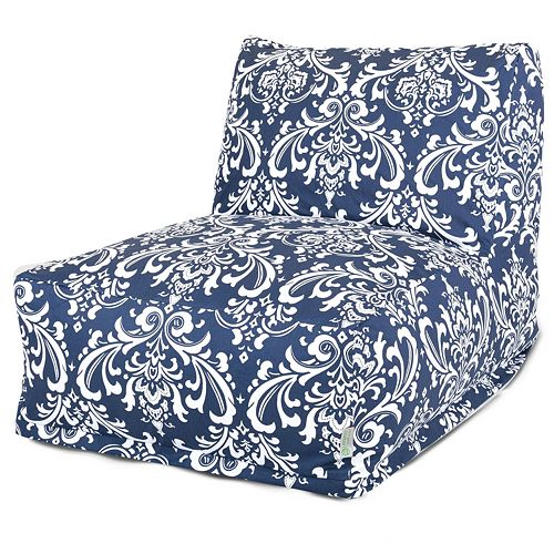 Majestic Home Goods French Quarter Indoor Outdoor Beanbag Chair Lounger