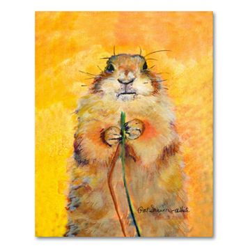 47'' x 35'' ''Target'' Canvas Wall Art by Pat Saunders-White