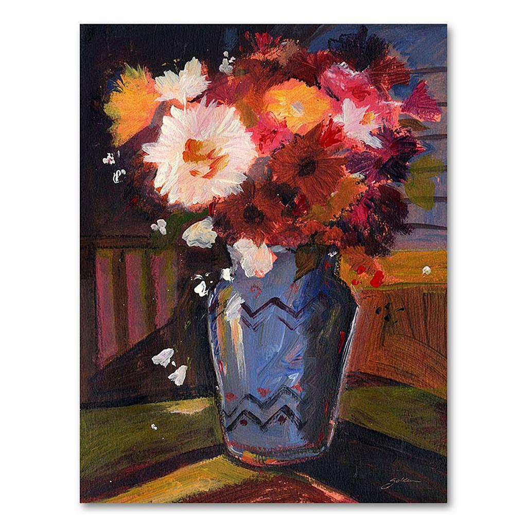 32'' x 24'' ''White Flower I'' Canvas Wall Art by Sheila Golden