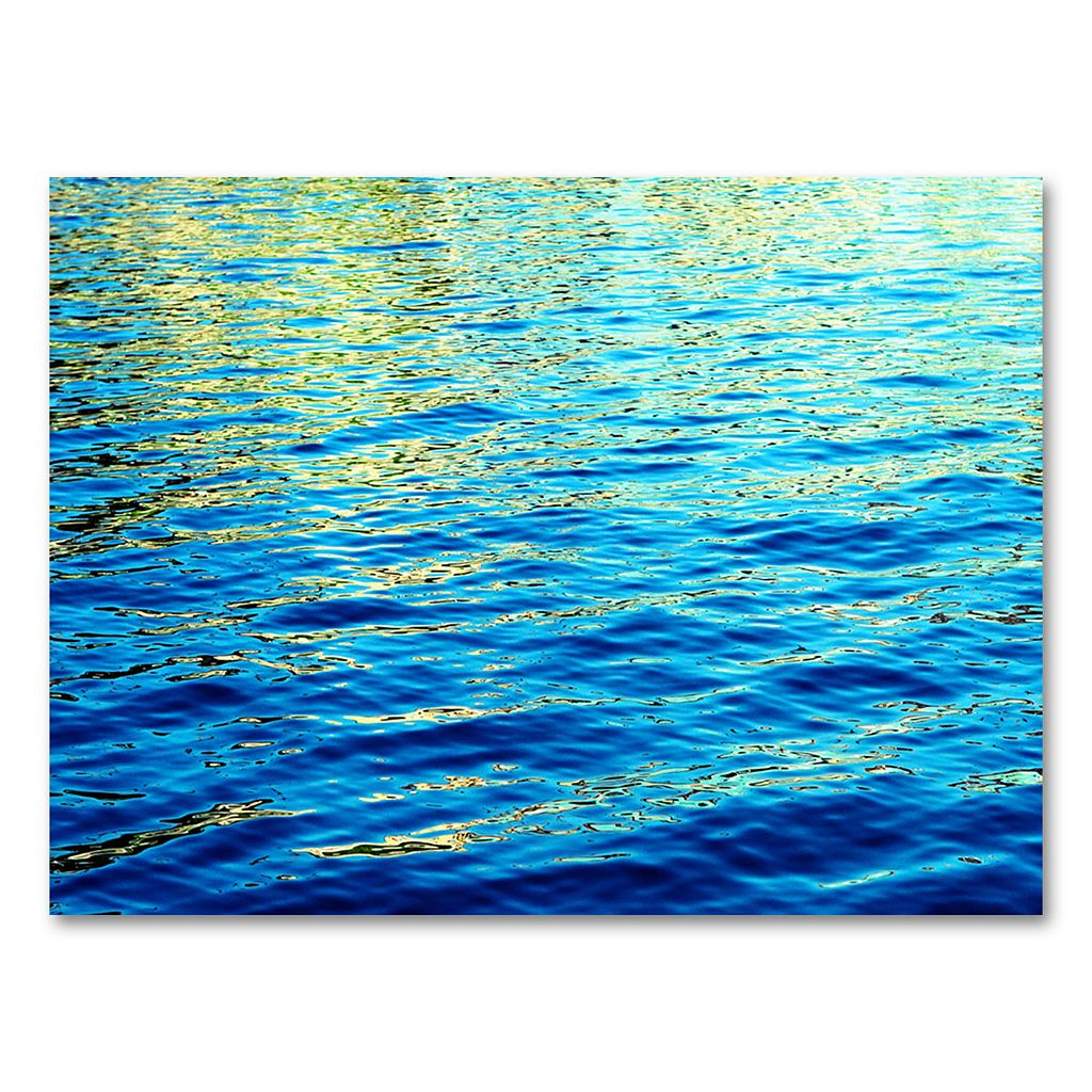 30'' x 47'' ''Ripples'' Canvas Wall Art by Ariane Moshayedi