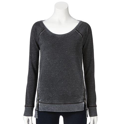 Rock & Republic® French Terry Sweatshirt - Women's