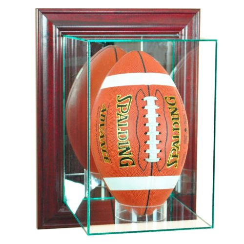 Perfect Cases Wall-Mounted Upright Football – Cherry Finish