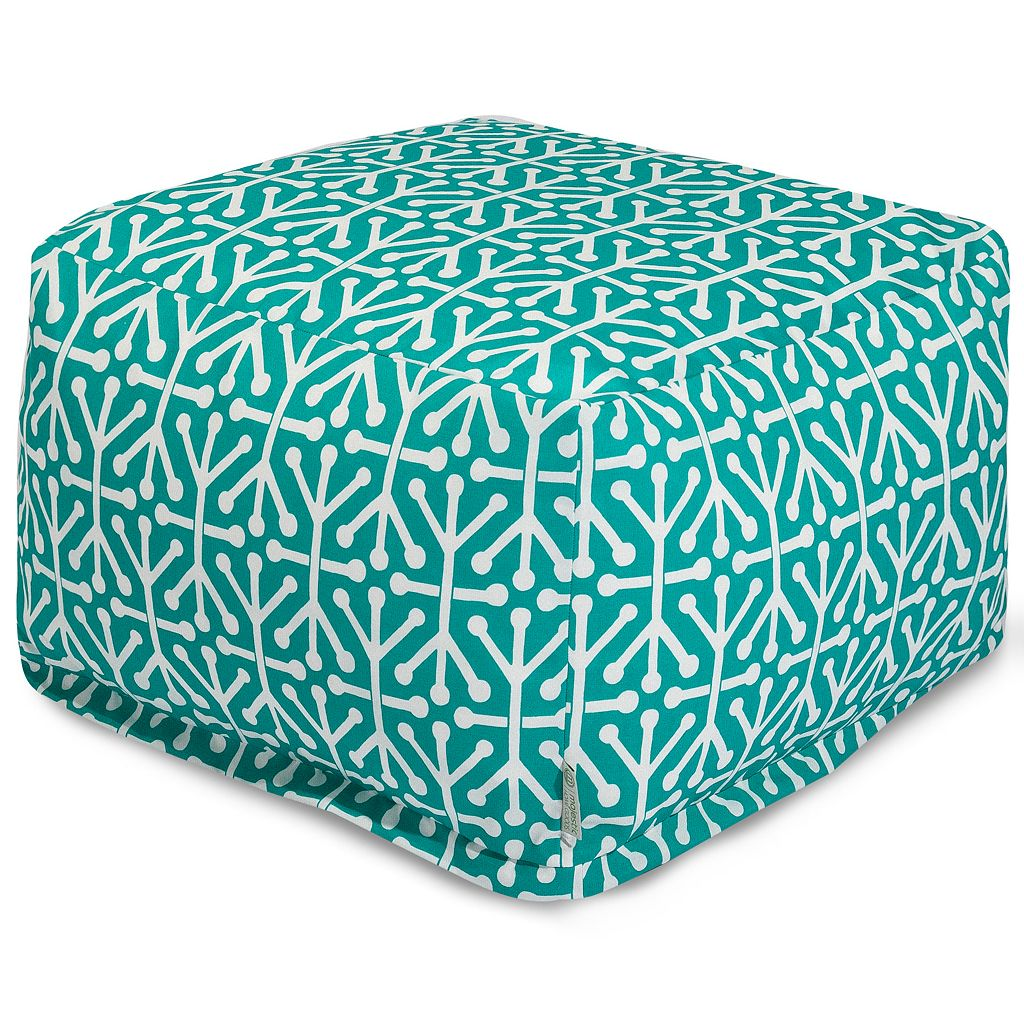 Majestic Home Goods Aruba Indoor Outdoor Large Ottoman