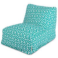 Majestic Home Goods Aruba Indoor Outdoor Beanbag Chair Lounger