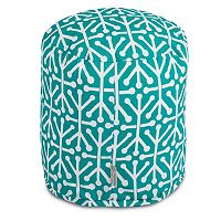 Majestic Home Goods Aruba Indoor Outdoor Small Pouf