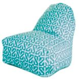 Majestic Home Goods Aruba Indoor Outdoor Kick-It Chair