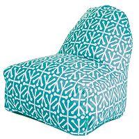 Majestic Home Goods Aruba Indoor Outdoor Kick-It Chair