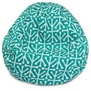 Majestic Home Goods Aruba Indoor Outdoor Small Beanbag Chair