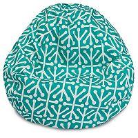 Majestic Home Goods Aruba Indoor Outdoor Small Beanbag Chair