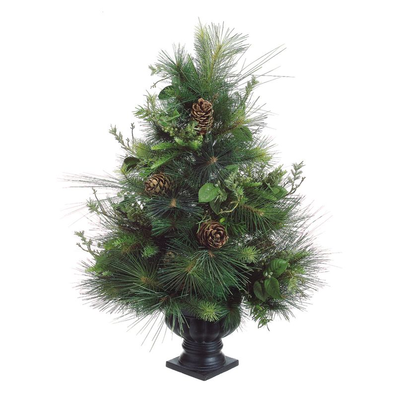 3-ft. Fresh Pine Potted Artificial Christmas Tree - Indoor (Green)