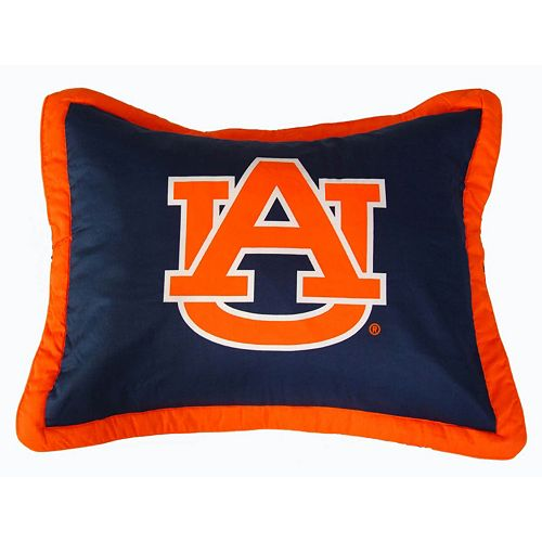 College Covers Auburn Tigers Printed Pillow Sham
