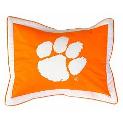 College Covers Clemson Tigers Printed Pillow Sham