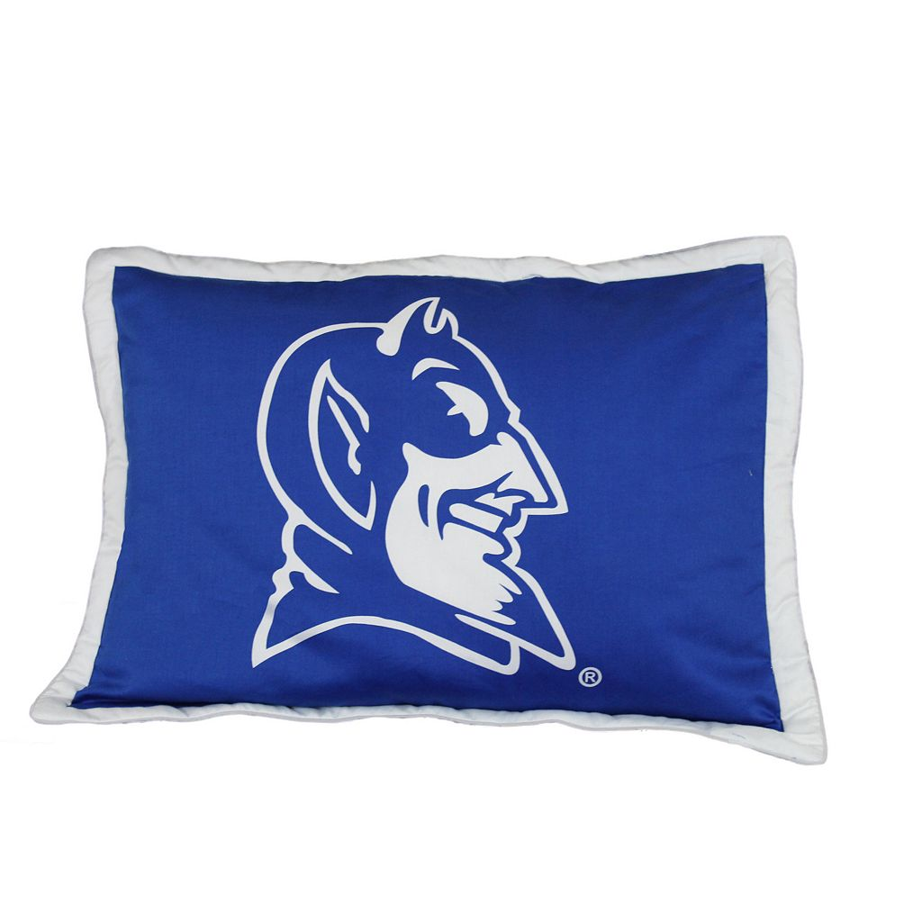 College Covers Duke Blue Devils Printed Pillow Sham
