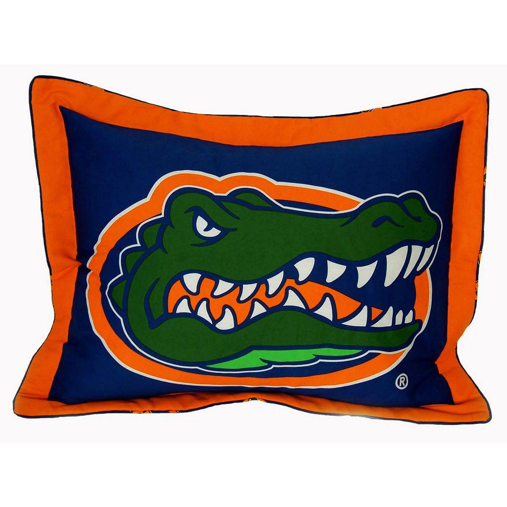 College Covers Florida Gators Printed Pillow Sham