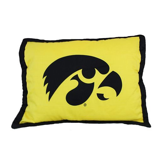 College Covers Iowa Hawkeyes Printed Pillow Sham