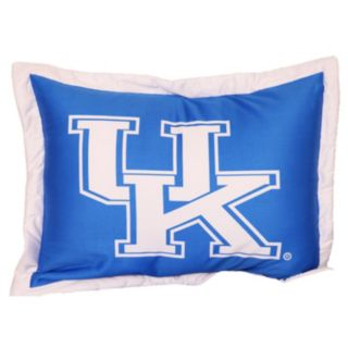 College Covers Kentucky Wildcats Printed Pillow Sham
