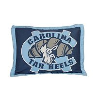 College Covers North Carolina Tar Heels Printed Pillow Sham