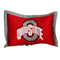 College Covers Ohio State Buckeyes Printed Pillow Sham