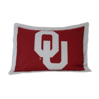 College Covers Oklahoma Sooners Printed Pillow Sham