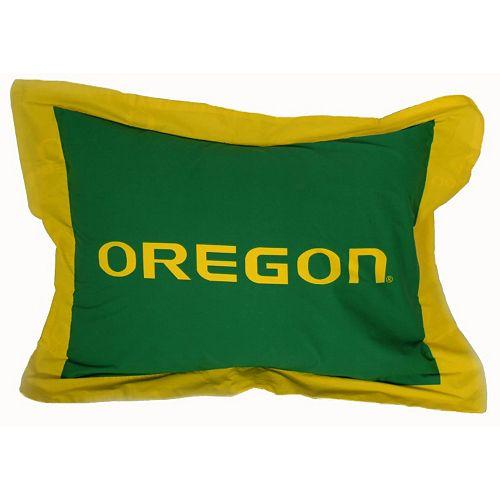 College Covers Oregon Ducks Printed Pillow Sham