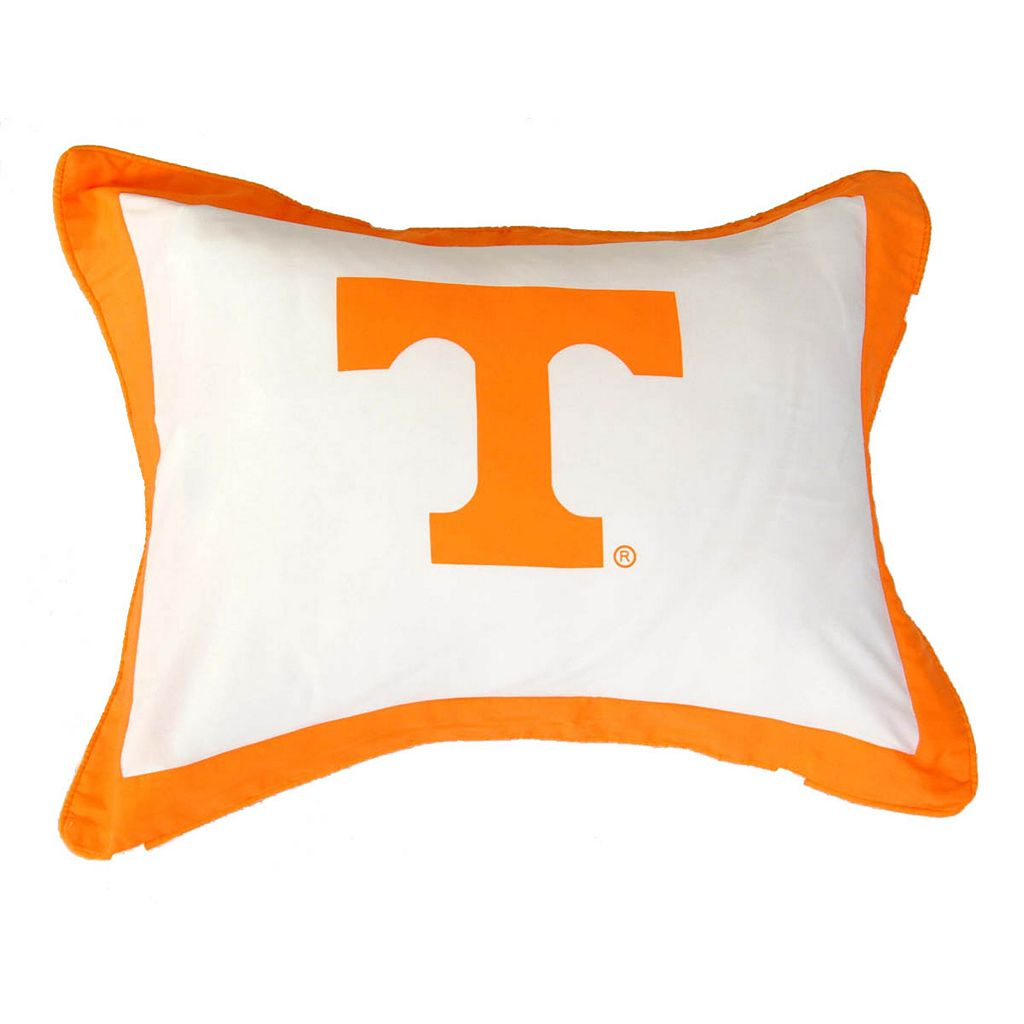 College Covers Tennessee Volunteers Printed Pillow Sham