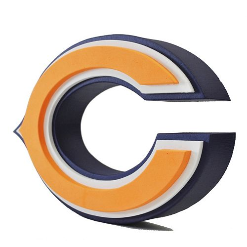 Chicago Bears 3D Foam Logo
