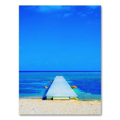 Beach-Pier 18 x 24 Canvas Wall Art by Preston