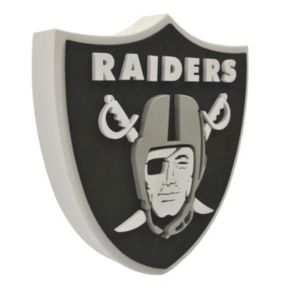 Oakland Raiders 3D Foam Logo