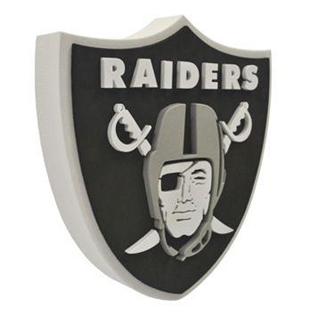 Oakland Raiders 3D Foam Logo