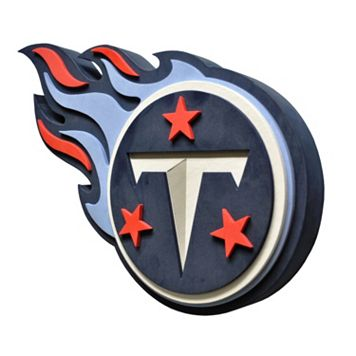Tennessee Titans 3D Foam Logo