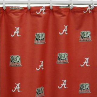 College Covers Alabama Crimson Tide Printed Shower Curtain Cover