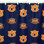 College Covers Auburn Tigers Printed Shower Curtain Cover