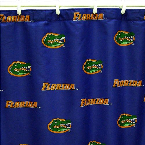 College Covers Florida Gators Printed Shower Curtain Cover