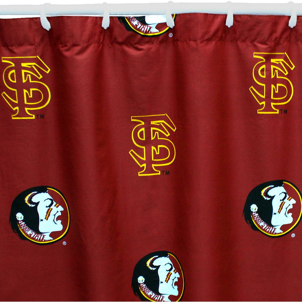 College Covers Florida State Seminoles Printed Shower Curtain Cover