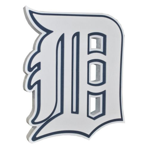 Detroit Tigers 3D Foam Logo