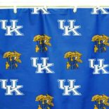 College Covers Kentucky Wildcats Printed Shower Curtain Cover