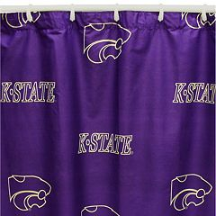 College Covers Kansas State Wildcats Printed Shower Curtain Cover