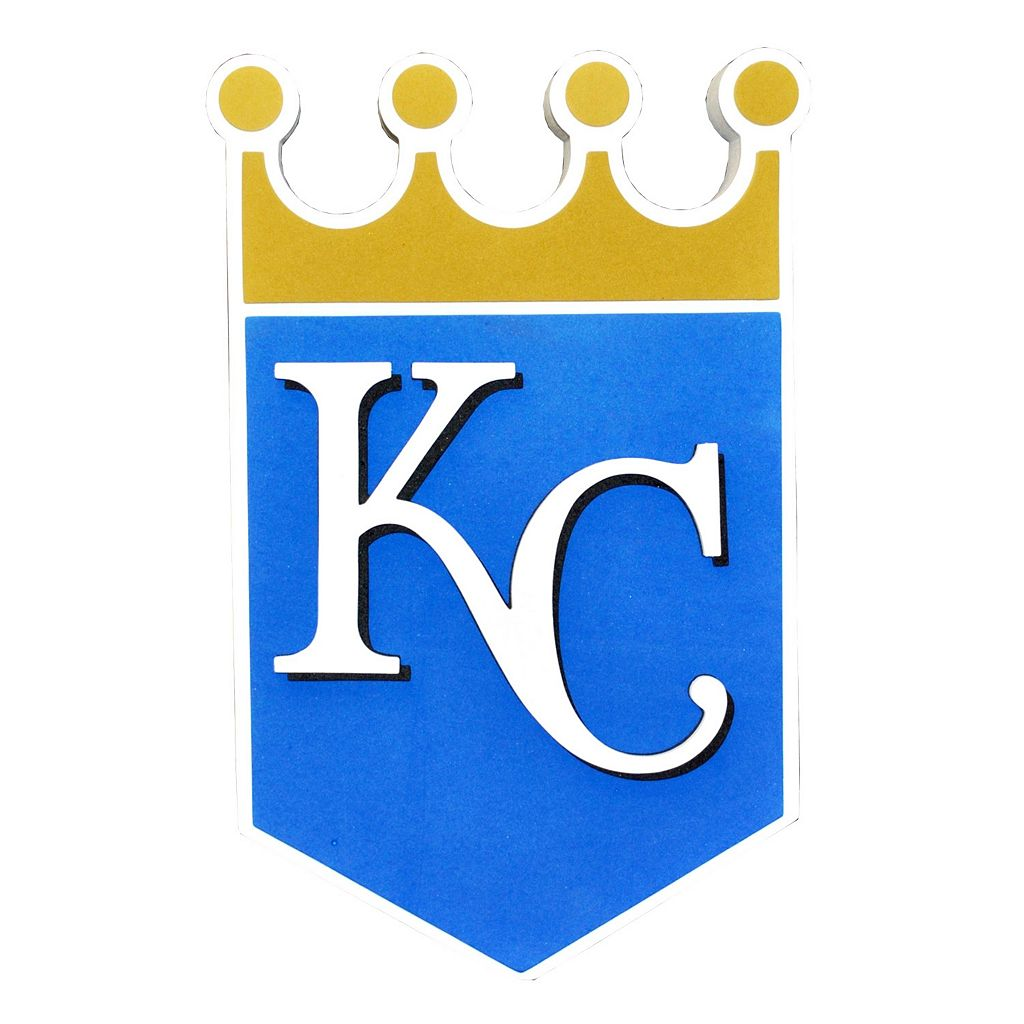 Kansas City Royals 3D Foam Logo