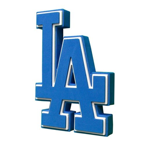Los Angeles Dodgers 3D Foam Logo