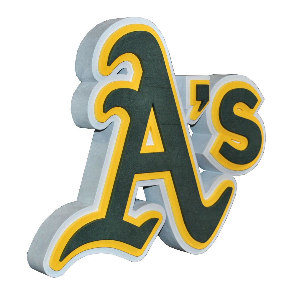 Oakland Athletics 3D Foam Logo