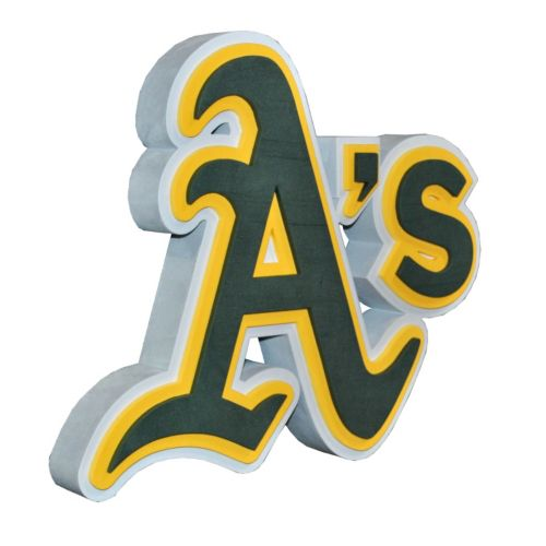 Oakland Athletics 3D Foam Logo