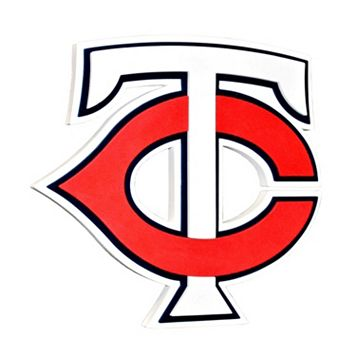 Minnesota Twins 3D Foam Logo