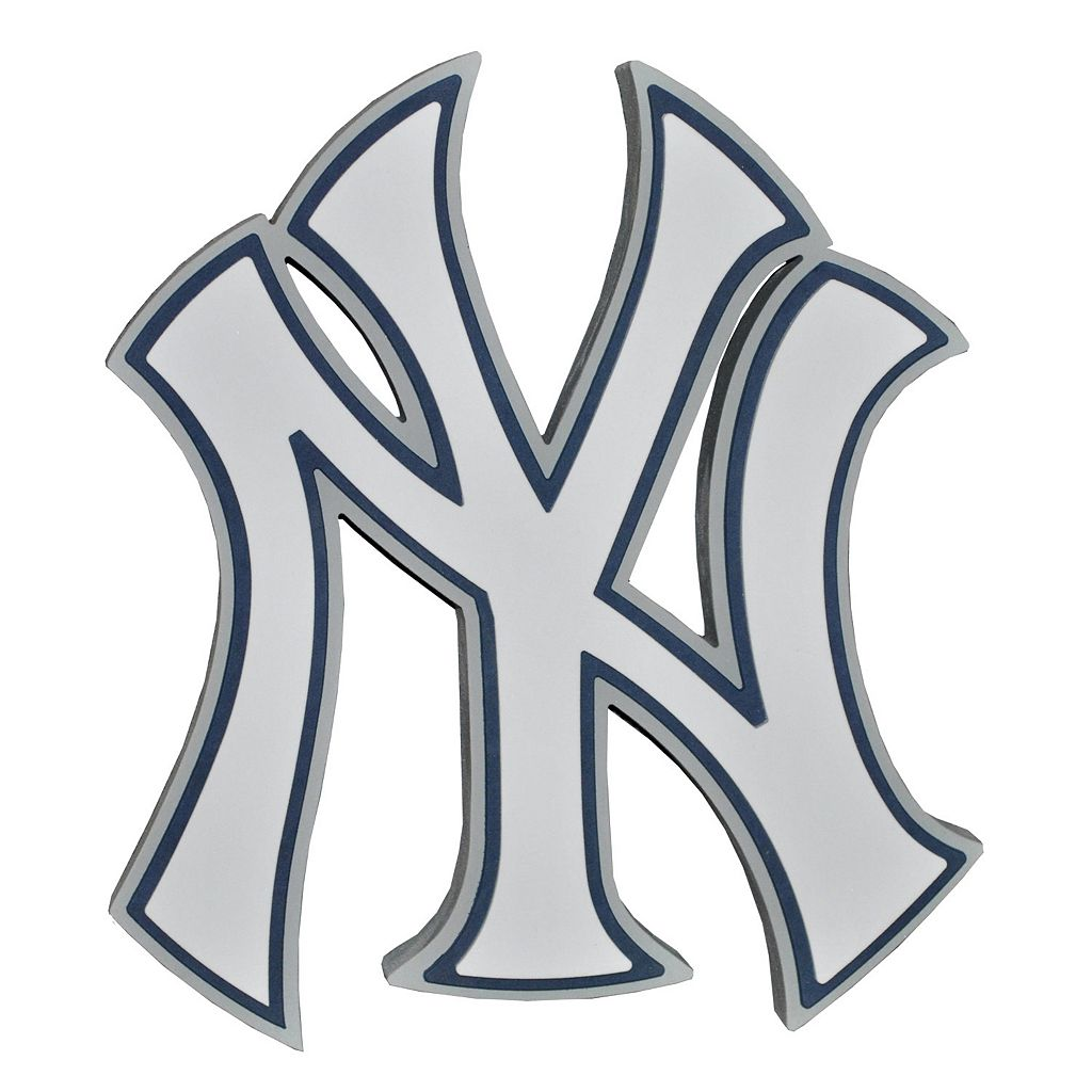 New York Yankees 3D Foam Logo