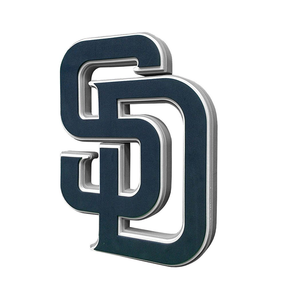 San Diego Padres 3D Foam Logo