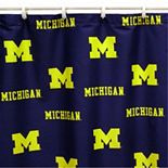 College Covers Michigan Wolverines Printed Shower Curtain Cover