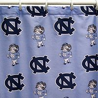 College Covers North Carolina Tar Heels Printed Shower Curtain Cover