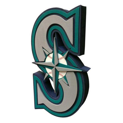 Seattle Mariners 3D Foam Logo