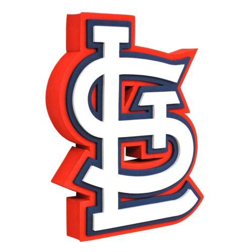 St. Louis Cardinals 3D Foam Logo