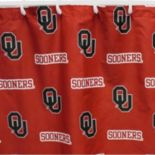 College Covers Oklahoma Sooners Printed Shower Curtain Cover