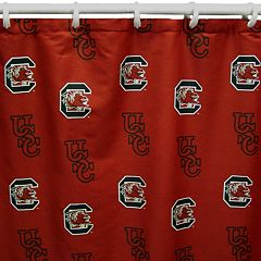 College Covers South Carolina Gamecocks Printed Shower Curtain Cover